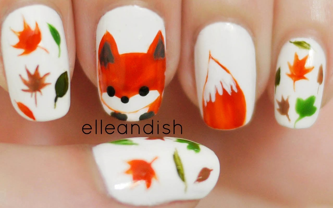10 Thanksgiving Nail Art Ideas The Laser Lounge Blog